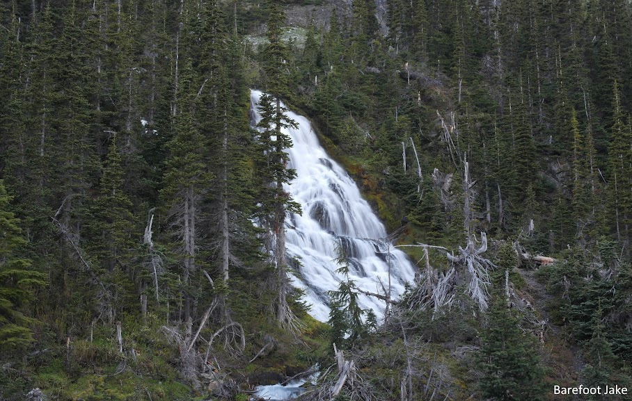 Olympic Mountain waterfall