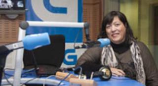 Clara de Saa, conductora del programa