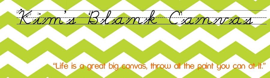 Kim's Blank Canvas