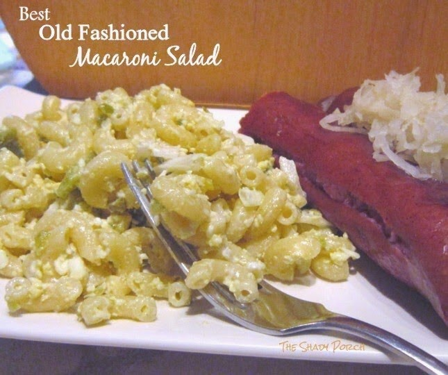 Best Old Fashioned Macaroni Salad