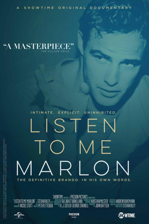 Listen to Me Marlon (2015) เสียงจริงจากใจ มาร์ลอน แบรนโด
