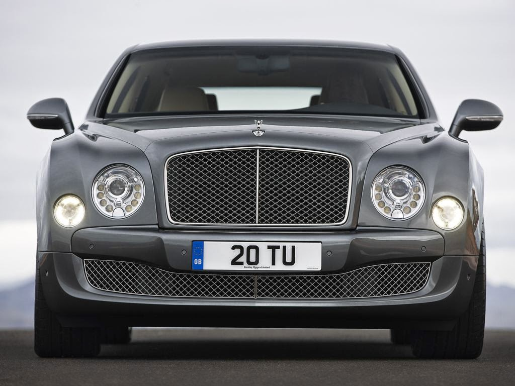 bentley mulsanne front View image