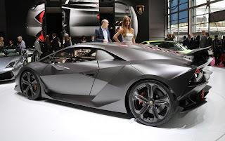 Gambar Mobil Lamborghini Sesto Elemento Concept