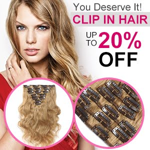Clip in Hair up to 20% off