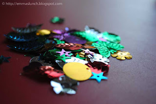 Easter crafts decorative egg confetti