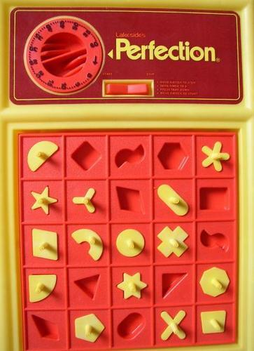70s Toys And Games : Fourth grade nothing milton bradley s perfection game