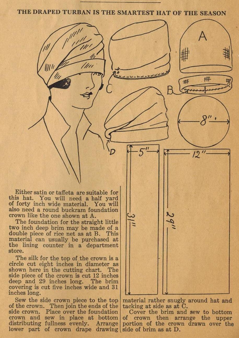 Сшить шапку для женщины своими руками