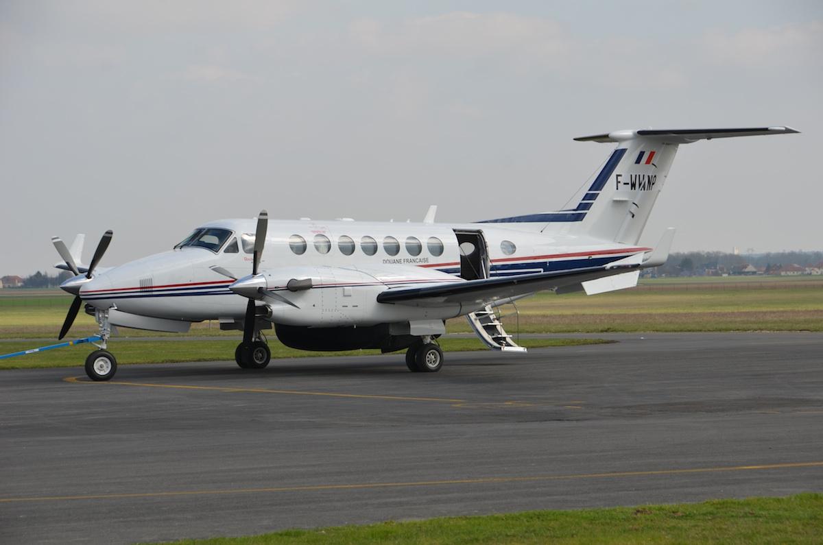 beech king air 350 des douanes fran u00e7aises