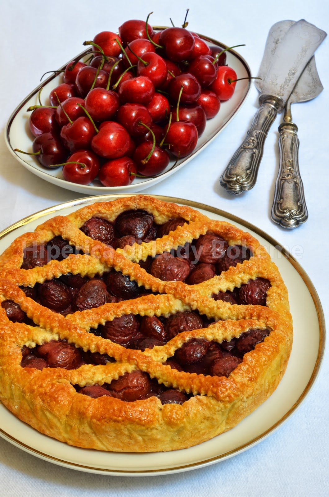 hiperica_lady_boheme_blog_cucina_ricette_gustose_facili_veloci_crostata_di_ciliegie_fresche_1
