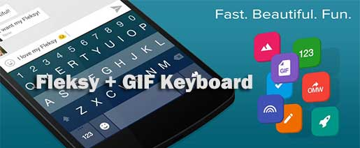 Fleksy + GIF Keyboard Apk v6.3.1 FULL Version Unlocked