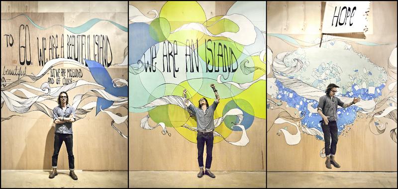 Sketchy notions friday feature brandon boyd for Brandon boyd mural