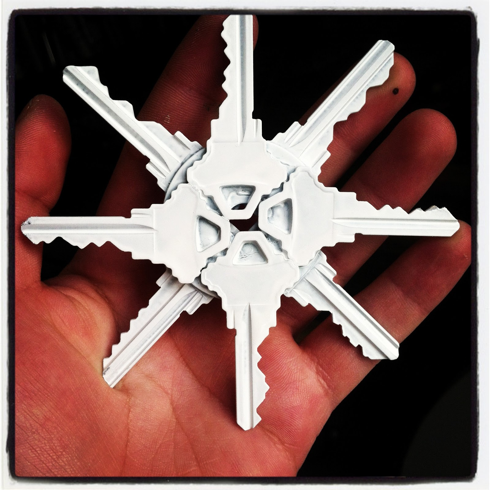 One Wall At A Time: Pinterest Challenge #11: Snow Flakes ...