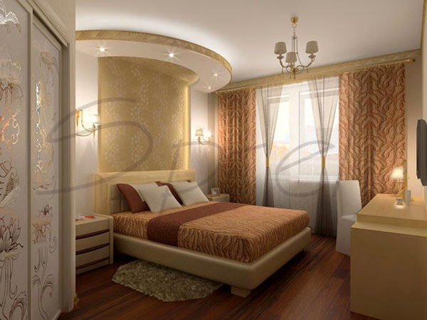Bedroom False Ceiling Designs With Backlight Lighting Systems