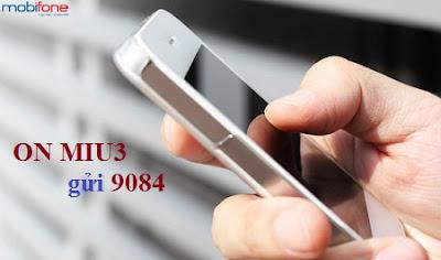 Cú pháp đăng ký gói MIU3 Mobifone 35k/tháng