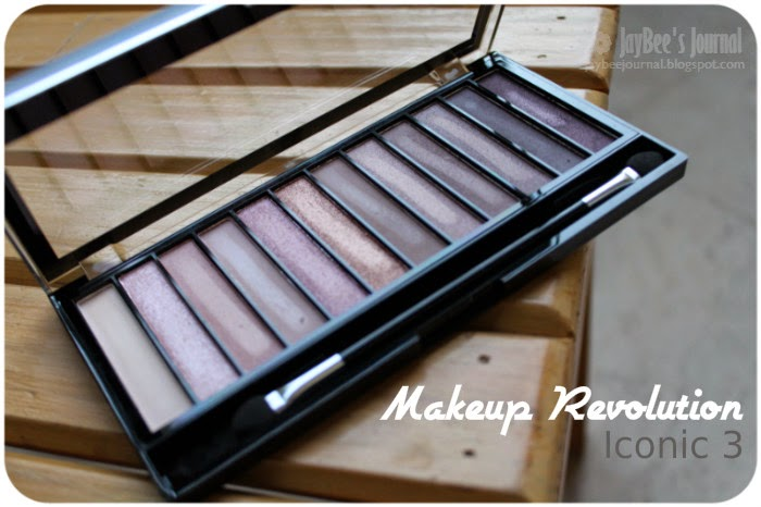 Makeup Revolution Redemption Palette Iconic 3 Swatches Review, Pakistani Beauty Nail Art Blog