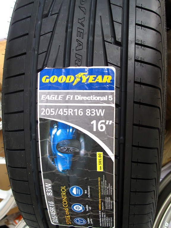 Tyre And Rims H2O One Stop Sdn Bhd Goodyear Eagle F1
