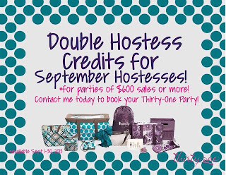 Thirty-One September Specials!!!!