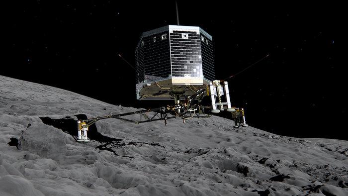 Зонд Филы успел завершить основную миссию до спячки