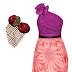 Free Vivienne Tam Dress and Chery Veil Head Piece