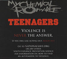 Blues Rock My Chemical Romance's Teenagers