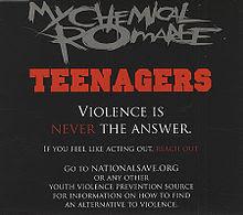 Blues Rock My Chemical Romance's Teenagers