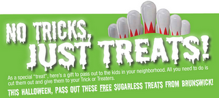Free Bowling for Kids Halloween Coupons