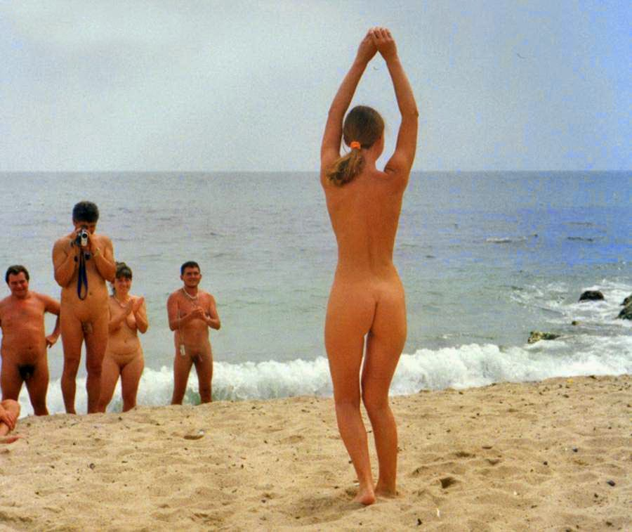 Family nude beach first time nudist