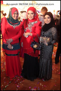 My beautiful leaders.. CDM Hanis Haizi, CDM Sha Khalid & DDM Shaliza Aziz