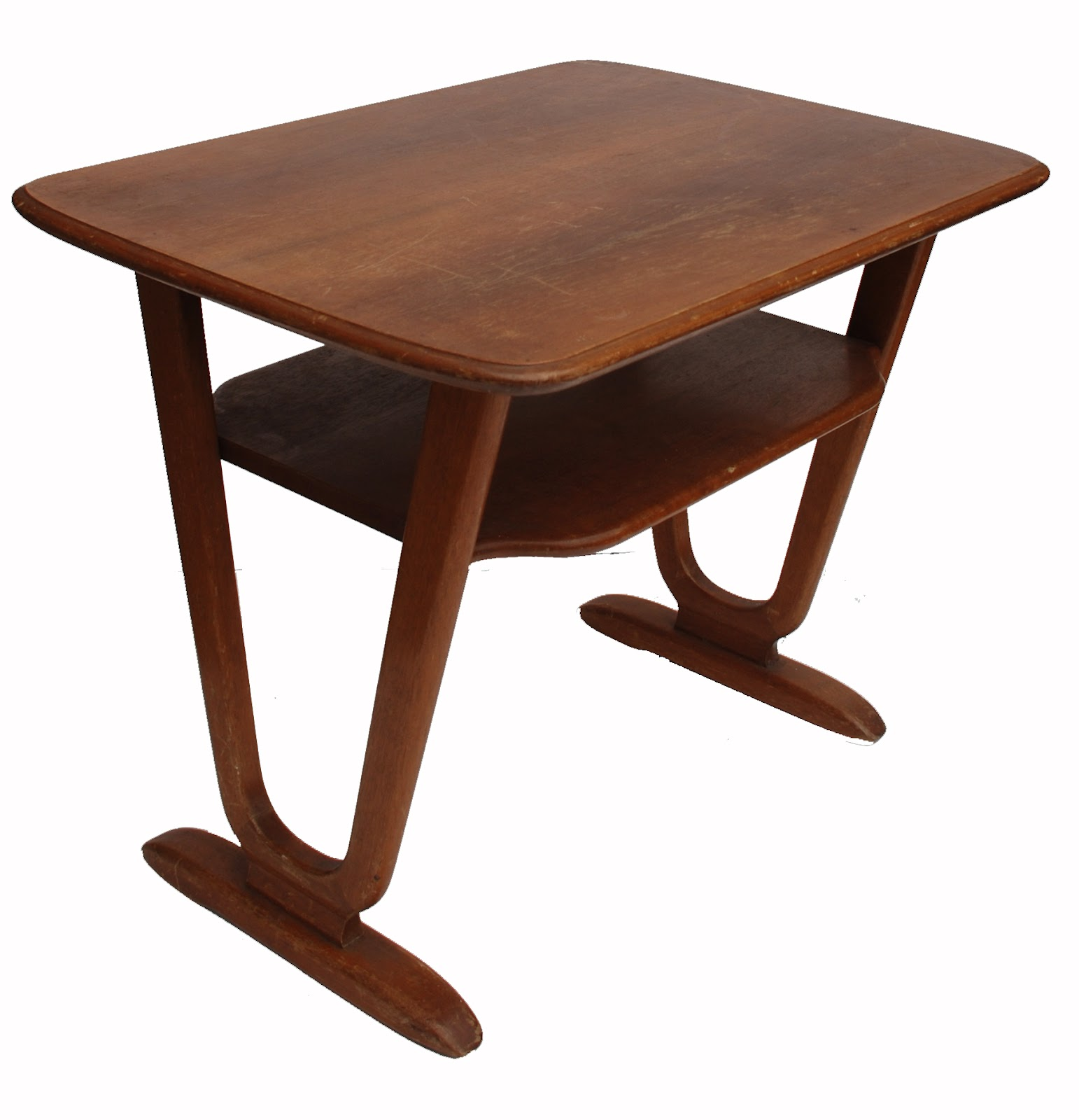 Bo vintage table basse moderniste ann es 50 60 - Table basse scandinave annee 50 ...