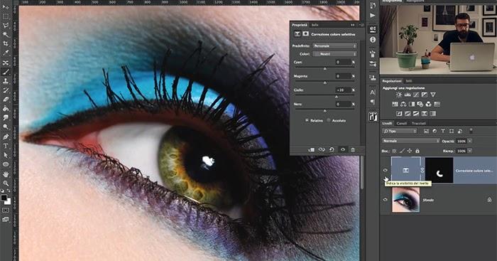 Come modificare il Colore degli Occhi con Photoshop in modo Professionale
