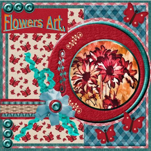 Feb.2016 – Flower art