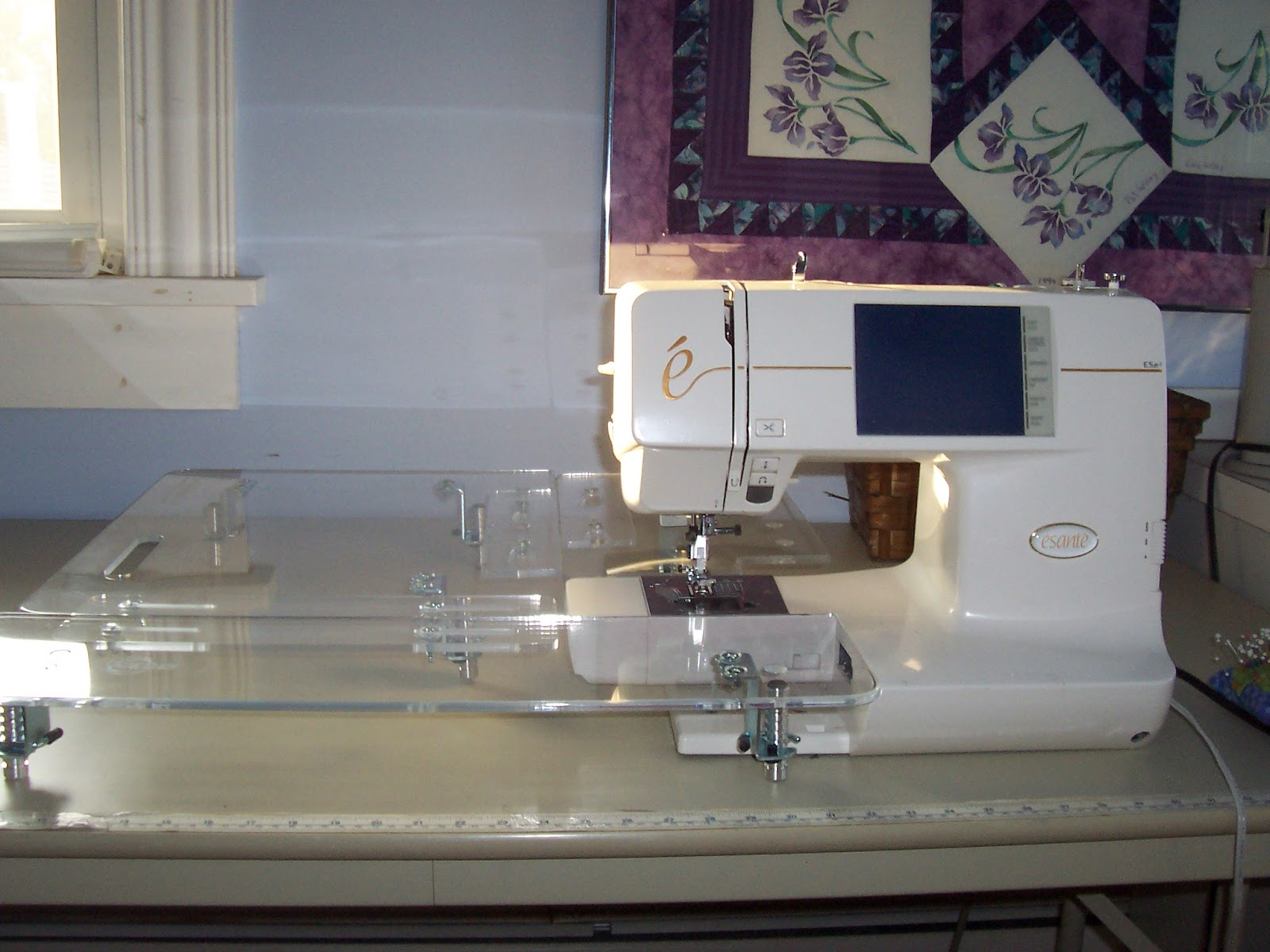 acrylic sewing machine extension table