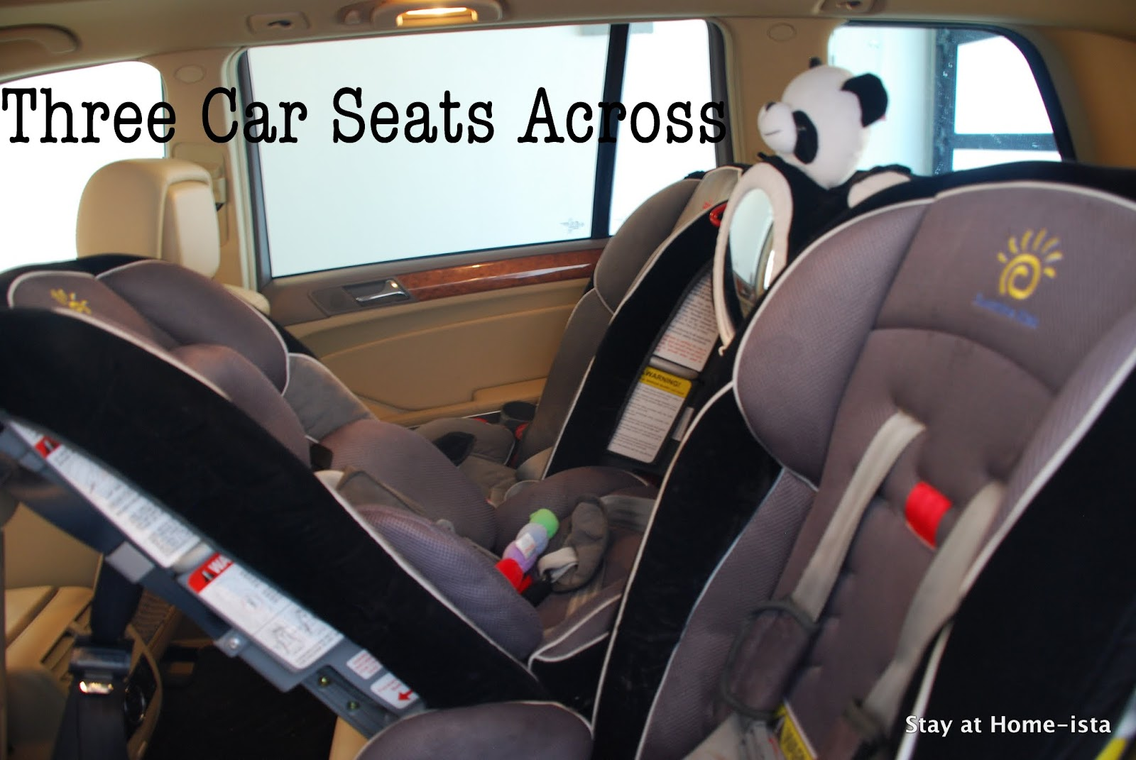 Stay at Home-ista: The Best Car Seats for our three kid family