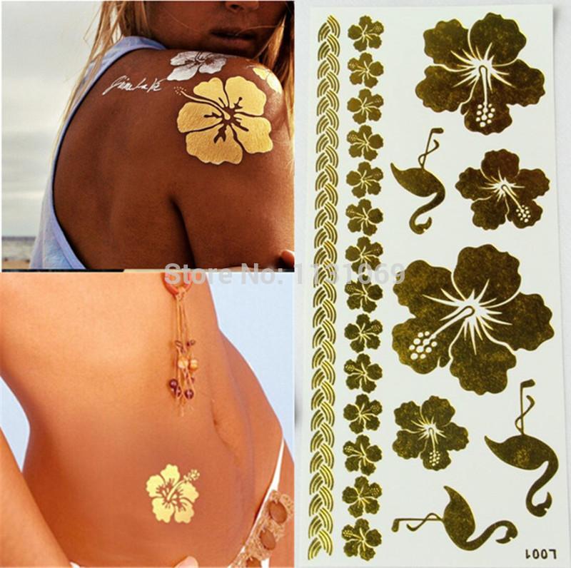 Tatouage Temporaire LightInTheBox - tatouage temporaire fleur