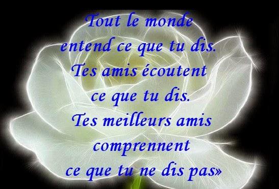 Relativ Message d'Amour et d'Amitié: Carte , Texte et Poème pour ma  HV79
