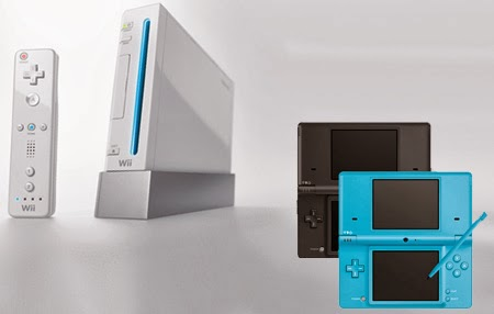 Nintendo Wii and Nintendo DS