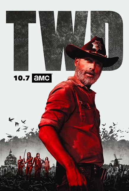 The Walking Dead Temporada 9 (2018) 720p y 1080p WEBRip mkv Dual Audio AC3 5.1 ch