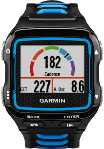 My Garmin watch