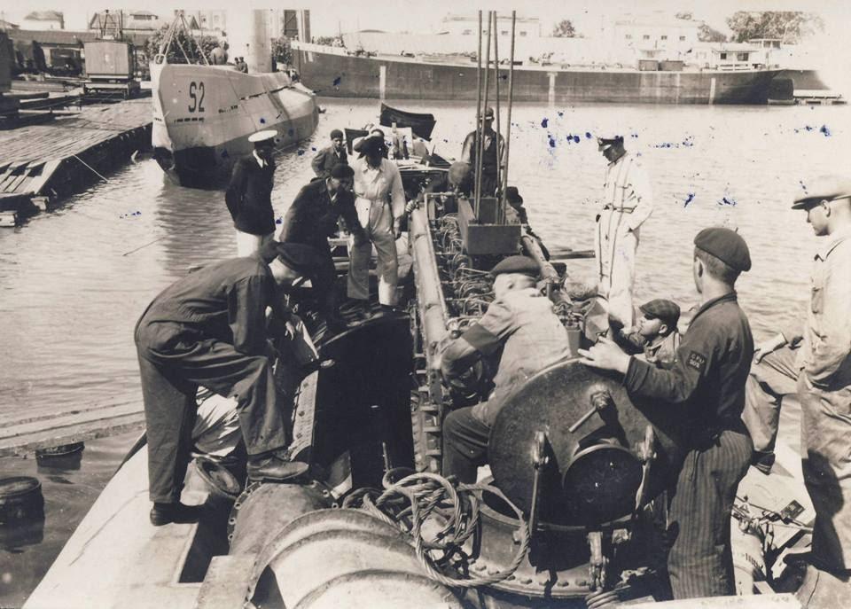 Submarinul NMS Rechinul in Galati