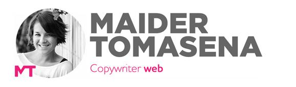 Maïder Tomasena - Copywriter