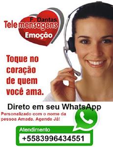 Tele Mensagem em seu WhatsApp