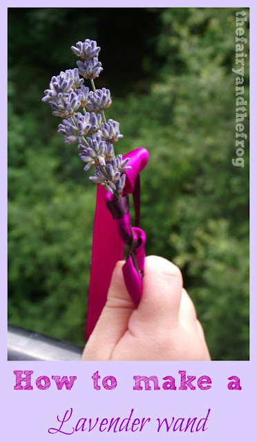 How to make a lavender fairy wand