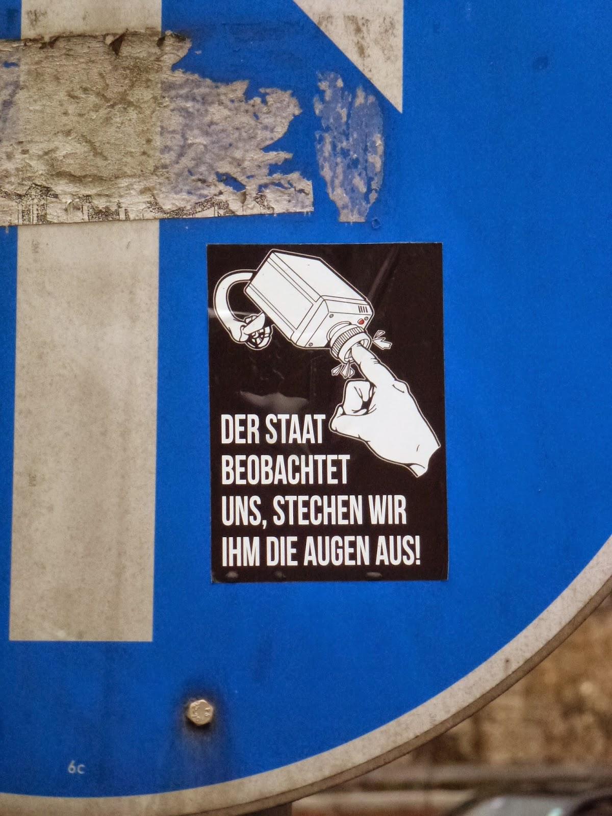 Sticker, Streetart, Giesing