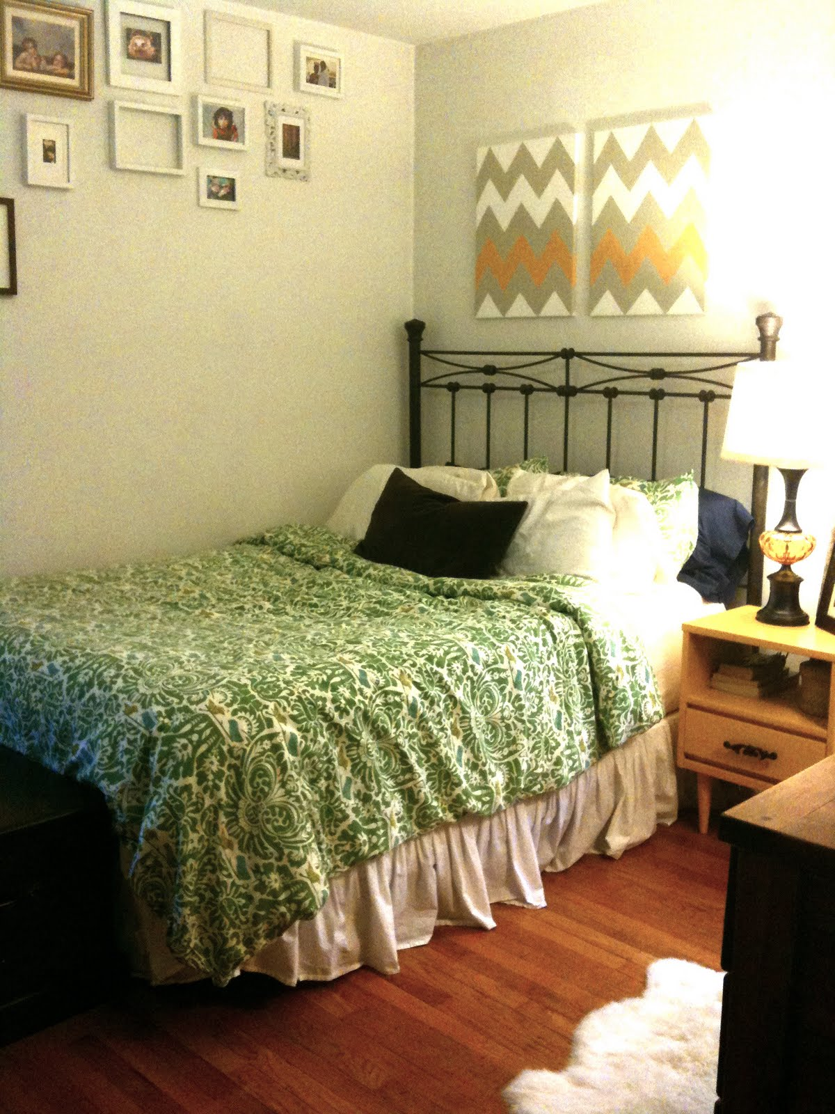 change of scenery: Bedroom mission complete(ish).