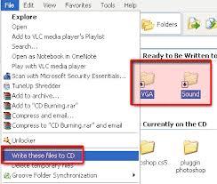 Cara Burning Data di Windows XP tanpa Aplikasi