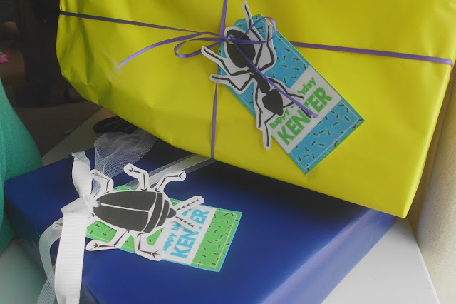 Bug Party Gift Tags