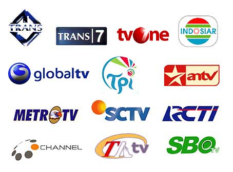 aneka info logo televisi indonesia tv swasta