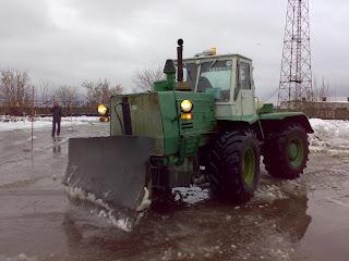 Колесный трактор ХТЗ Т-150К