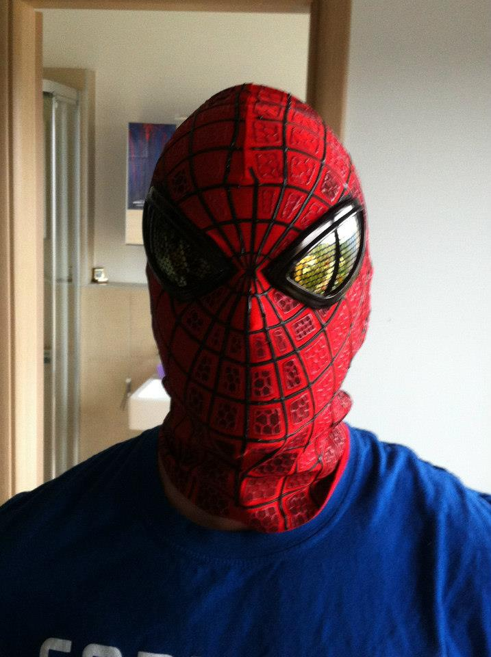 how to make a spiderman suit replica