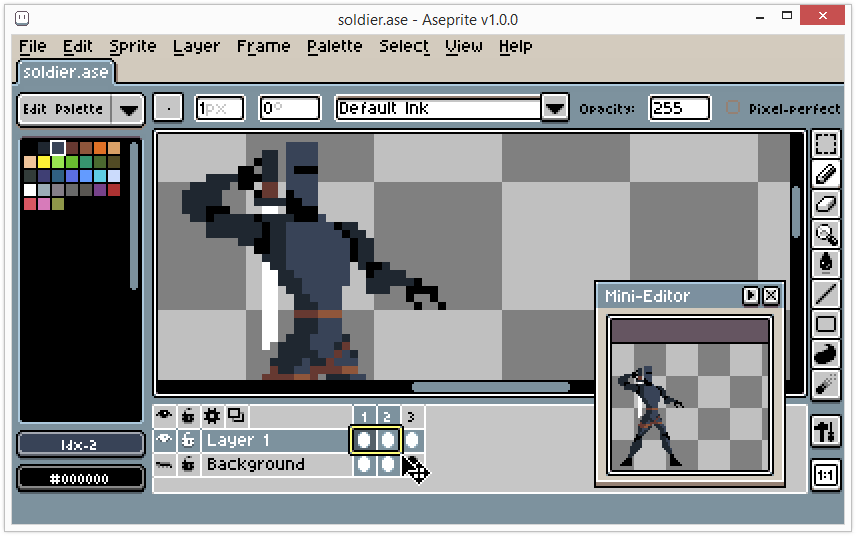 mac os x pixel art editor